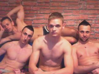 Picture of the sexy profile of FourMuscleBoys, for a very hot webcam live show !