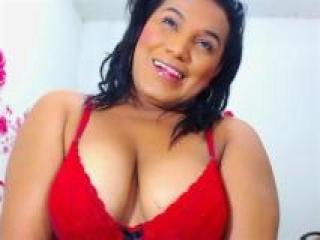 TsBigCockHotCum - Webcam sexy with this ebony Transsexual
