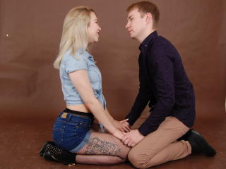 NunDevil - Chat live hard with this shaved sexual organ Female and male couple