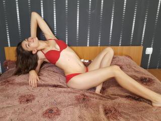 Photo de profil sexy du modèle CanndyLips, pour un live show webcam très hot !