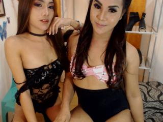 WetnWildDuoTS - online show exciting with this oriental Transsexual couple