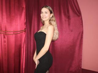 Sexet profilfoto af model MiaBlueberry, til meget hot live show webcam!