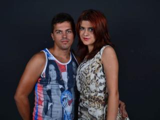 Picture of the sexy profile of SelenaNEduardo, for a very hot webcam live show !
