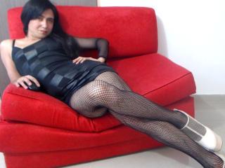 Sexy Profilfoto des Models TranxCasandraCol, für eine sehr heiße Liveshow per Webcam!