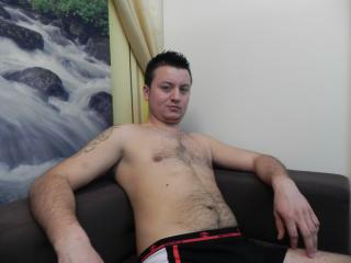 Picture of the sexy profile of HornyCole, for a very hot webcam live show !