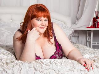 Photo de profil sexy du modèle ChrisyGold, pour un live show webcam très hot !