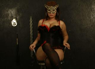 Picture of the sexy profile of DominatricePrincess, for a very hot webcam live show !
